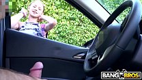 BANGBROS - Flashed Dick At Precious Blonde Girl Walking Down The Street 2 min
