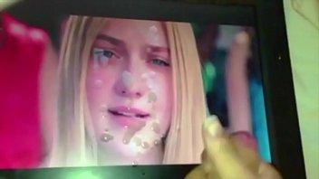 Dakota Fanning gif cum tribute