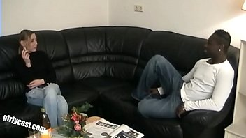 Nici's BBC surprise! Her first time with a black man