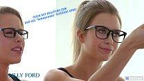 GIRLSWAY - Nerd Girls Turn Into Lesbians - Lilly Ford, Jill Kassidy