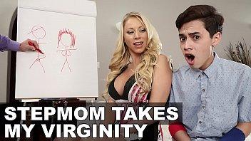 FILTHY FAMILY - Stepmom Katie Morgan Takes Juan El Caballo Loco's Virginity