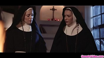 Blonde nuns eating each others cunt