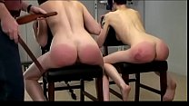 Two Girl Exposed Spanking Lila and Veronica
