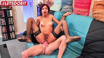 LETSDOEIT - Ebony French Milf Slut Super Ass Fucked