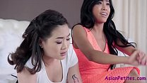 Showing Sis How To Fuck Her Boyfriend- Ember Snow & Kaya Lin