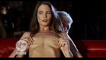 Beautiful girl gets her nipples twisted hard