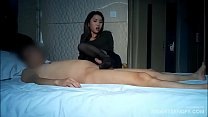 (Asian amateur) Cambodian outcall prostitute serving her client