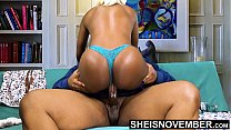 HD BBC Creampie Cum Deep Inside Young Tiny Ebony Pussy Riding Big Dick Hardcore With Panties On , Msnovember Fucking Cowgirl Poking Big Juicy Ass Butt Out , Hardcore Sex Ride Cum Dripping Out Vagina  Fuck HD Sheisnovember Video