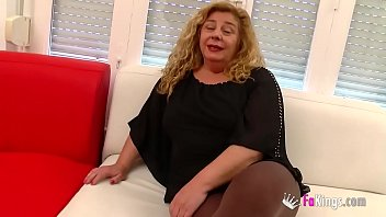 Chubby MILF has a threesome with Ainara and Jordi 'cause she wants to feel young again