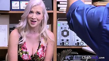 Blonde Teen cries for MERCY- Emily Willis