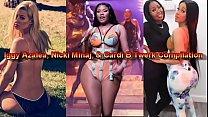 Iggy Azalea, Nicki Minaj, & Cardi B Twerk Compilation