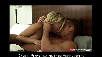 HOT blonde GF wakes up to take care of her man's morning wood 7 min