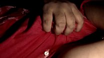 s. mom boobs pressed hard