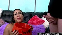 Big boobed Latina degraded hardcore