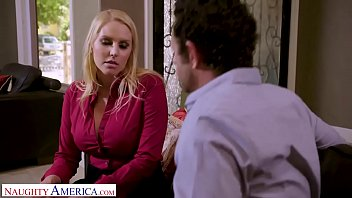 Naughty America - Big Cock Hero saves his friends marriage
