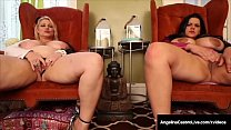 BBWs Angelina Castro & Samantha 38G Have Huge Ass Boobs!
