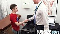 FunSizeBoys - Tiny twink seduced by kingsize doctor during medical exam