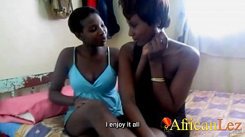 Real African Lesbian Couple Filmed In Bedroom