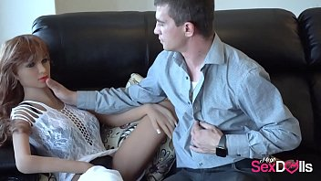 Husband going HARDCORE on SexDoll 3 min