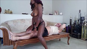 I dry hump Tony then finish him off with a blowjob
