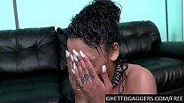 Ebony 19 year old humiliated hardcore 6 min