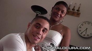Una dominicana y un español