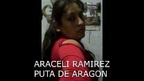 ARACELI RAMIREZ PUTA DE ARAGON