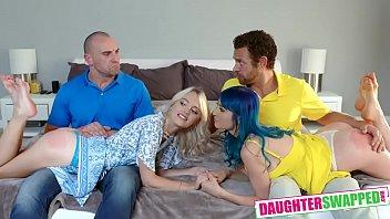 Jewelz Blu , Kate Bloom A Secret Nude Daughter Party
