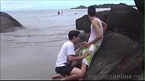 Suruba na praia