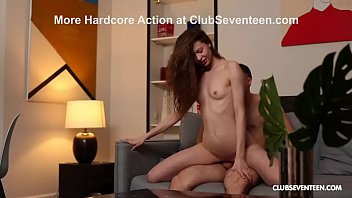 Gorgeous Skinny Teen Pounded by Horny Boyfriend