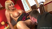 Wedding Day Cheating Wife get all horny when she sees a hot young stud 14 min