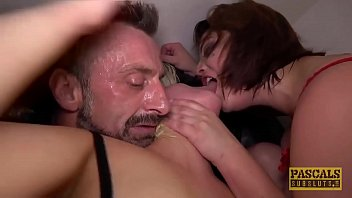 PASCALSSUBSLUTS - Lucia Love Shares Master Cock In BDSM 3way