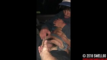 straight bi curious 21yo street trade has fun with first gay jerkoff session (Danny 1) 16 min