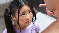Tiny asian schoolgirl gets caught messing around - teen porn 5 min