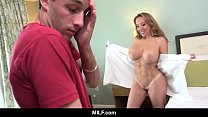 MILF - Racked MILF Richelle Ryan Bangs The Cute Delivery Boy