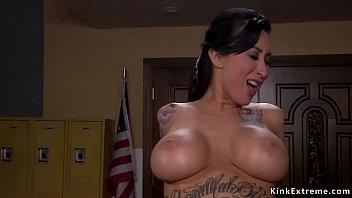 Sex addict fucks alt huge tits babe