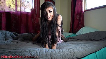 19 Yr old Emo Girl moaning LOUD from intense orgasm @therealanyajohnson