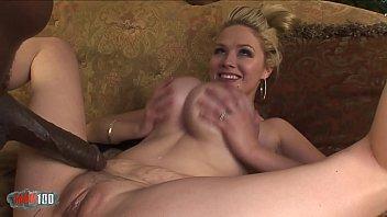 Giant black dick for giant white boobs 50 min