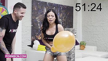 hot milf brunette big ass latina fucking with a real pornstar and youtuber on a show of the taster