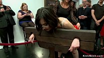 Babe anal fucked in public gallery