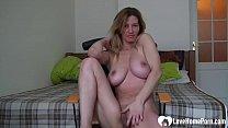 Astonishing girlfriend records herself while she's masturbating