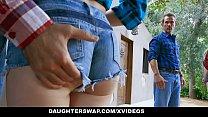 DaughterSwap - Kinky Teens (Rosalyn Sphinx) (Britney Light) Twerk For Hot Dad Cock
