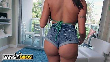 BANGBROS - Brunette MILF Julianna Vega Bounces Her Big Ass On Jmac's Dick