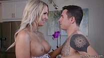 Busty shemale fucks step sisters date