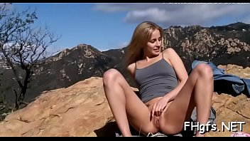 Enticing floosy Jas and dude in this video