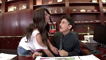 Dirty gets a quickie with the boss during an excited rebuke for the milf