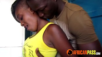 Young African Amateur Blows Big Cock
