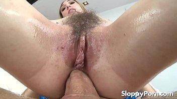Hairy anal slut Lily Labeau