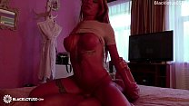 Glamour Babe Romantic Blowjob Dick Stranger and Hardcore Sex in the Hotel