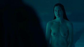 Kathryn Hahn full frontal skinny-dip in Mrs. Fletcher S01E02 1080p